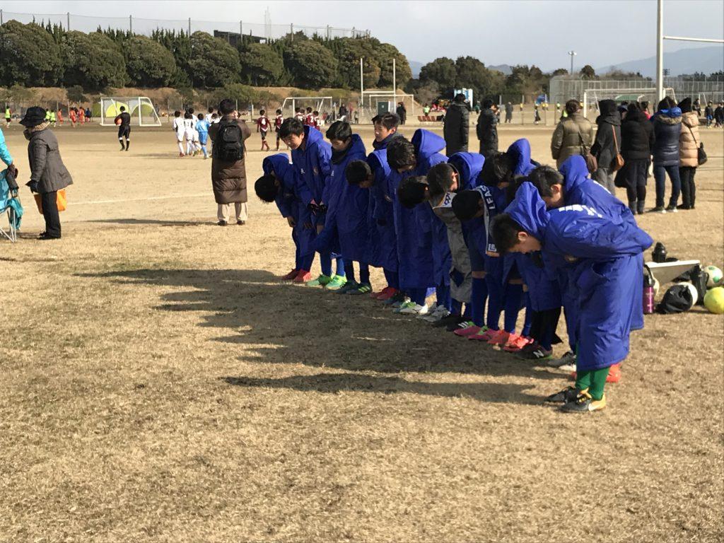 U12 1st 福岡市長杯 vs 大原、田島