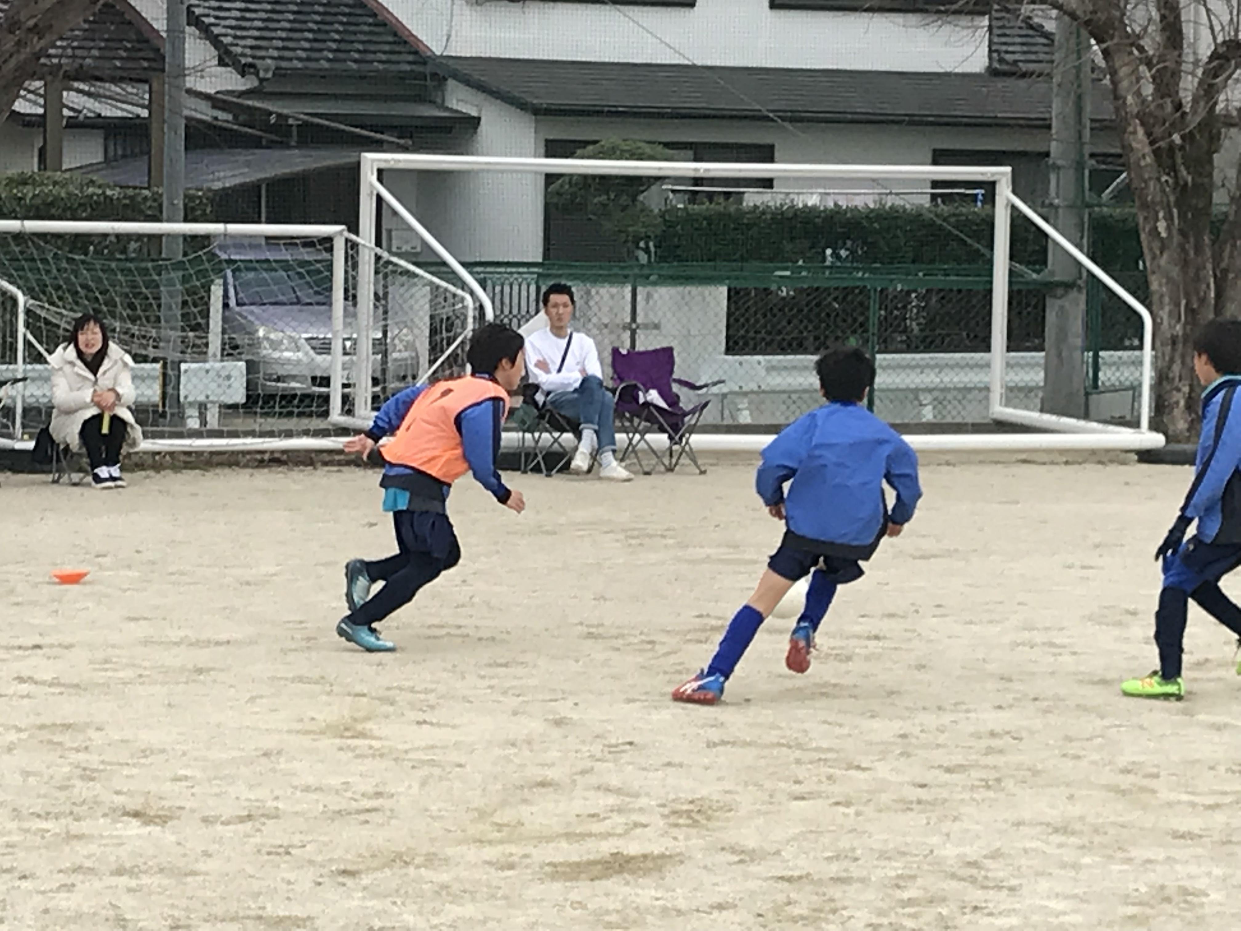 U10 1stチーム チャンピオンシップ2連勝で1部リーグ進出決定!