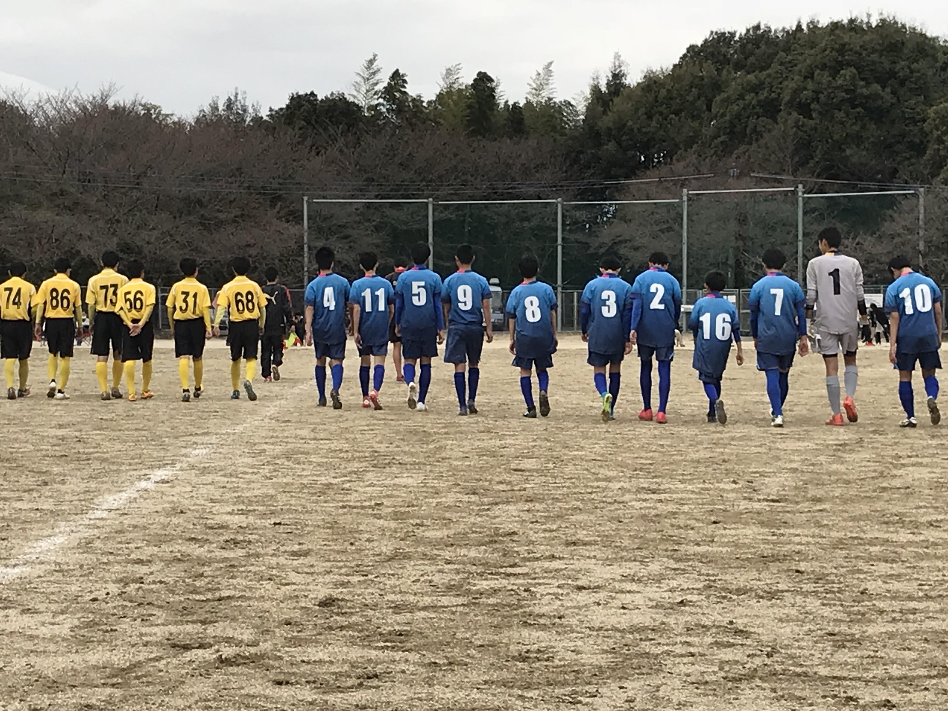 先週3月17日(土)、3月18日(日)ジュニア・ジュニアユース試合結果