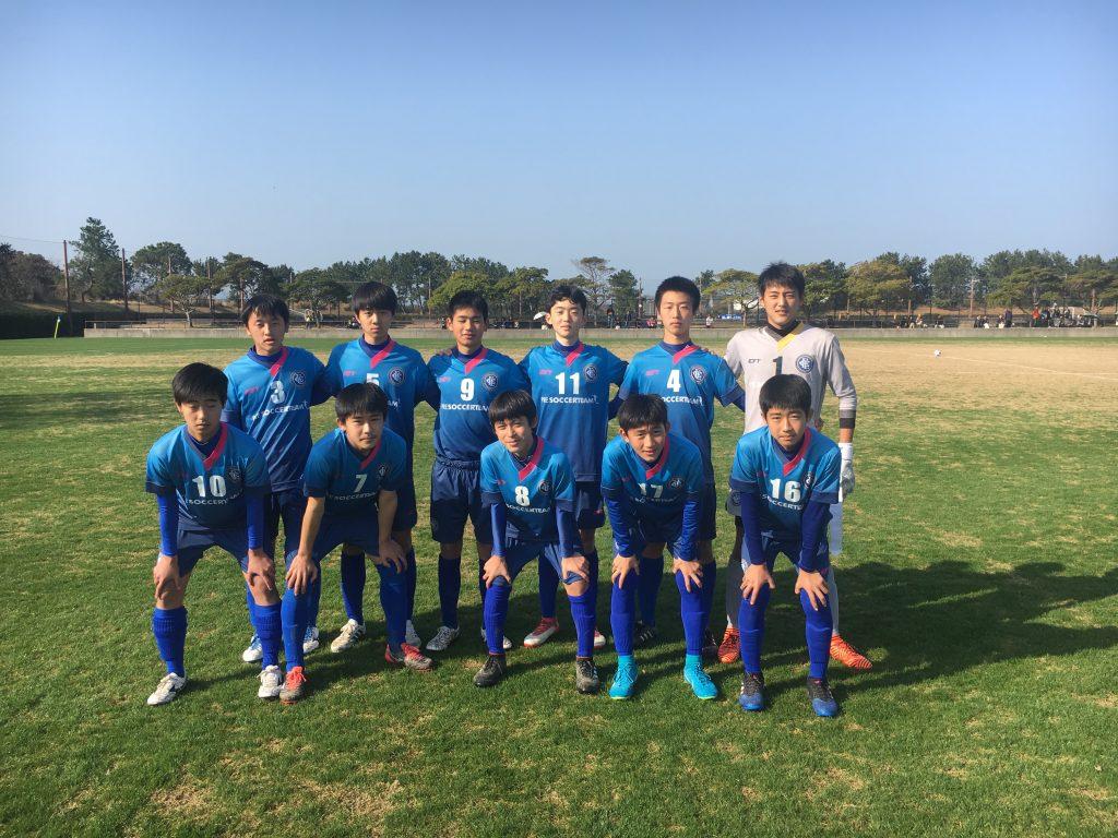 ジュニアユーストップ 福岡市長杯 準決勝 vs 姪浜中学校