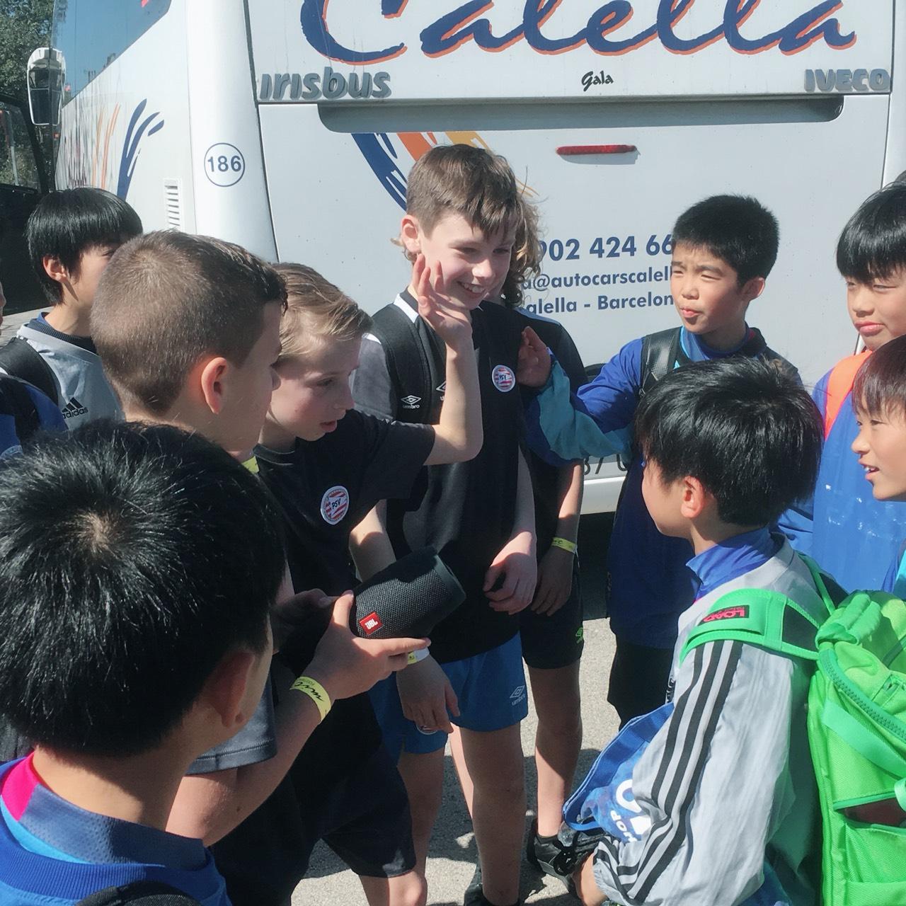 3/28(水)Alevin A(4-6年生混合チーム)国際大会初戦でオランダのプロクラブPSVのU12と対戦!