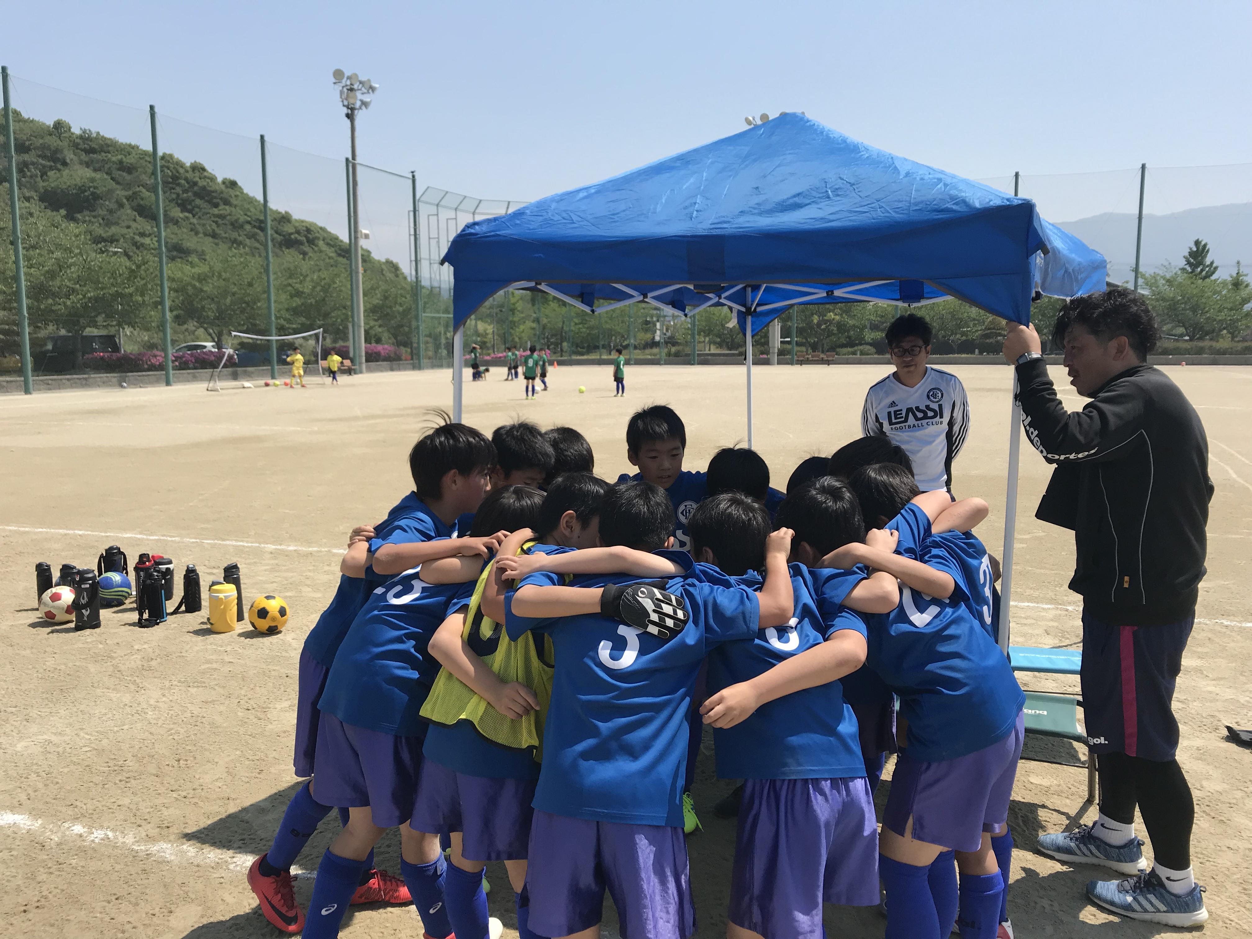 南区U-10リーグ開幕直前! 1stメンバーは明日の練習時に発表します