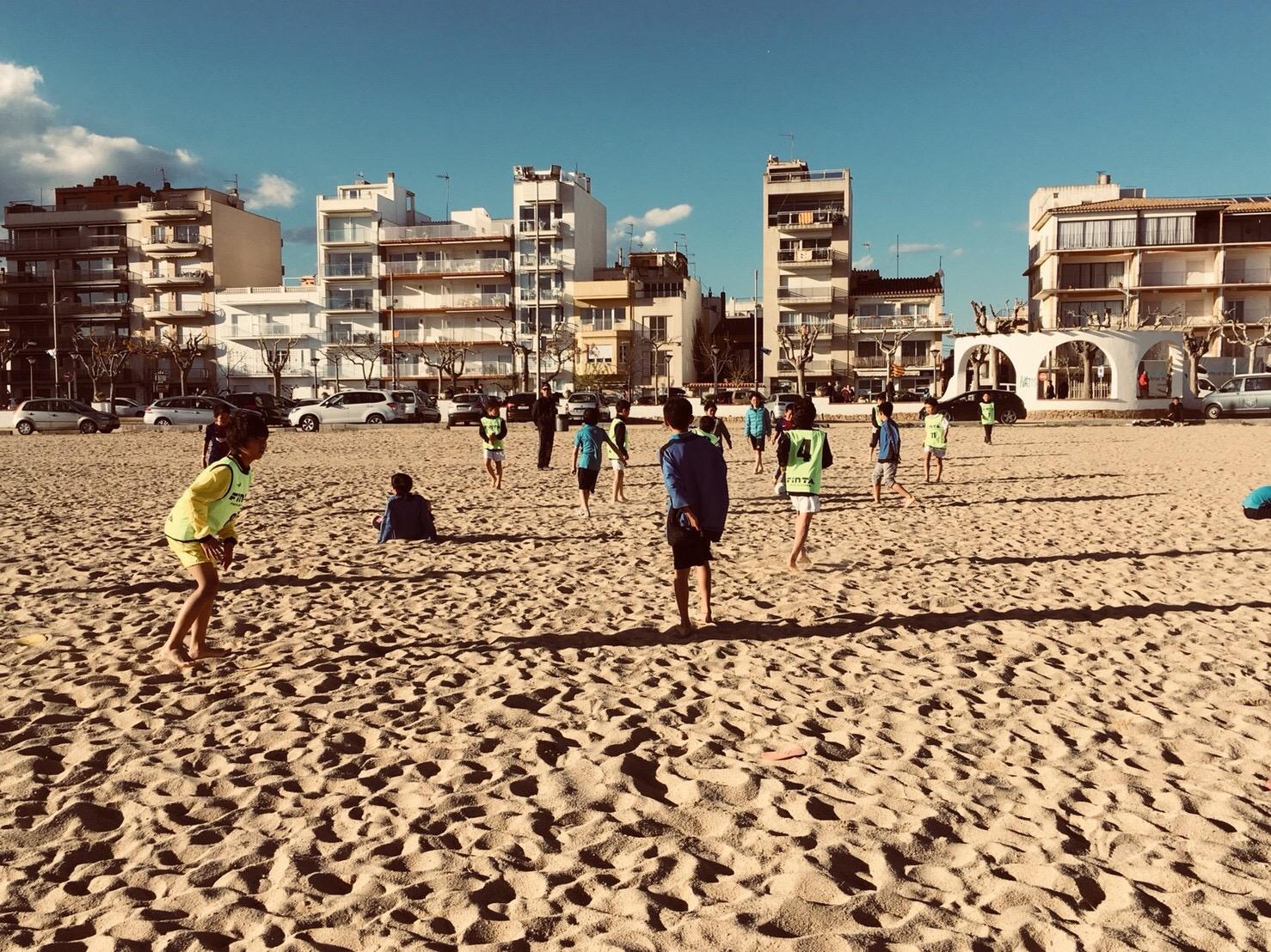 スペイン遠征8日目 Alevin B 質の高い試合を見てサッカーを学びます!