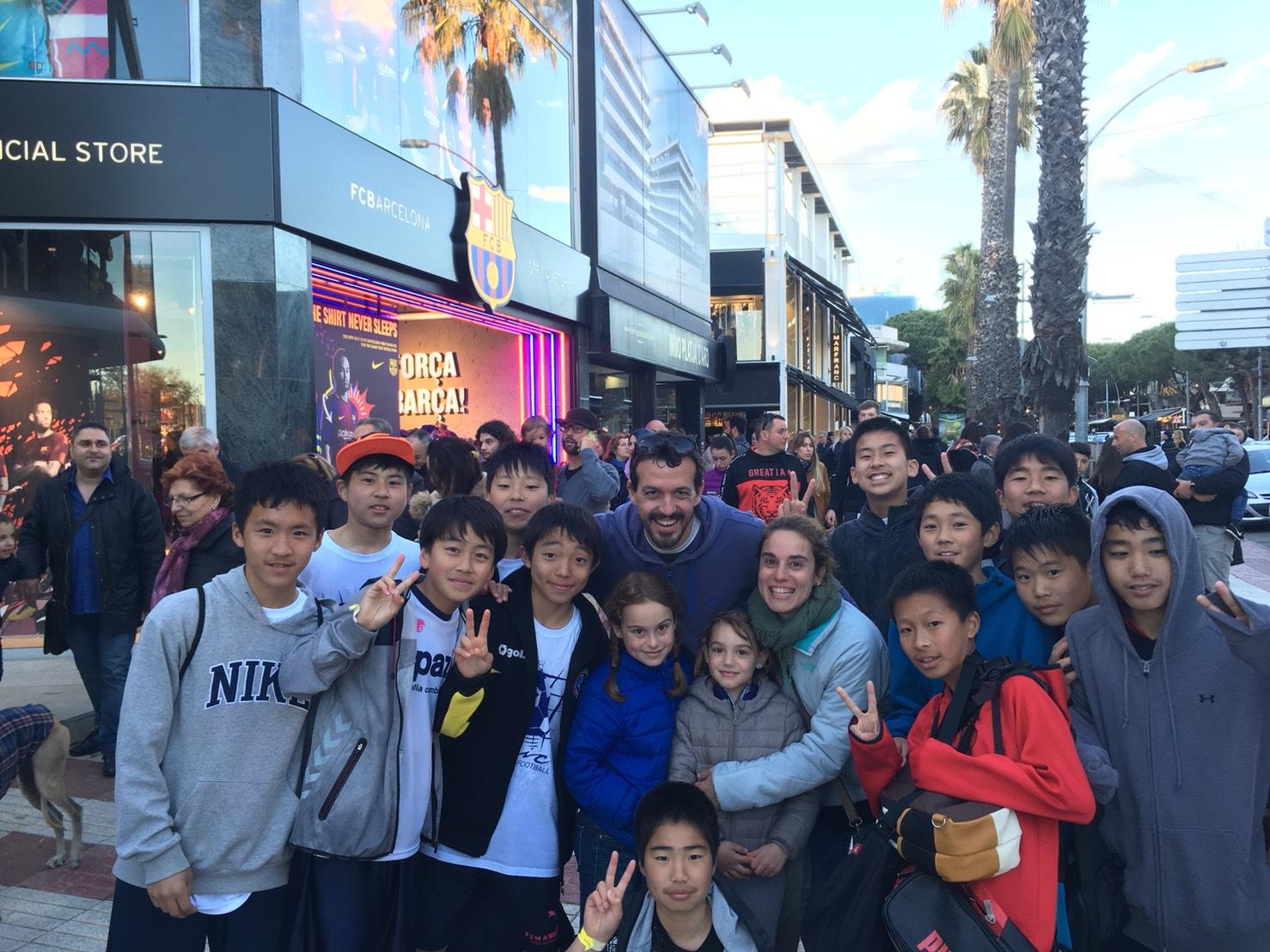 スペイン遠征8日目Infantilはスペイン観光を満喫!
