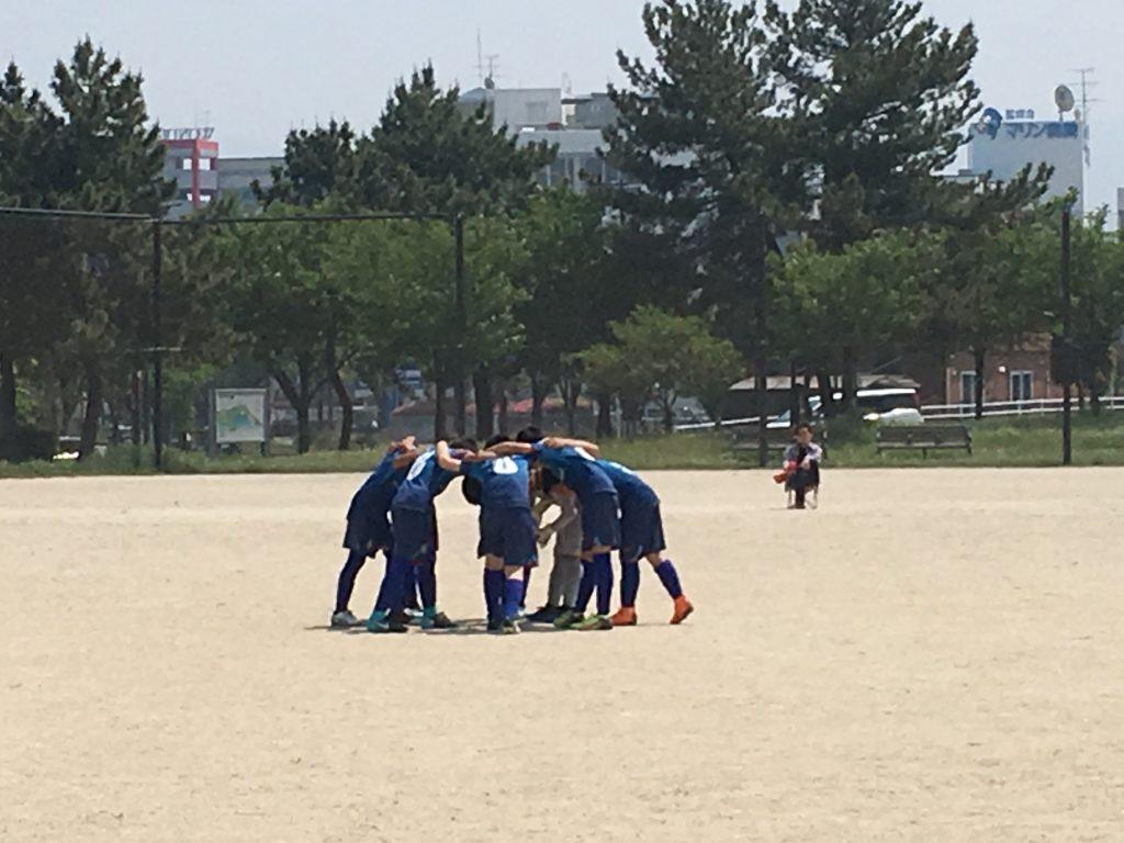 4/29(日)U12 1stチーム 支部1部リーグ第3・4節