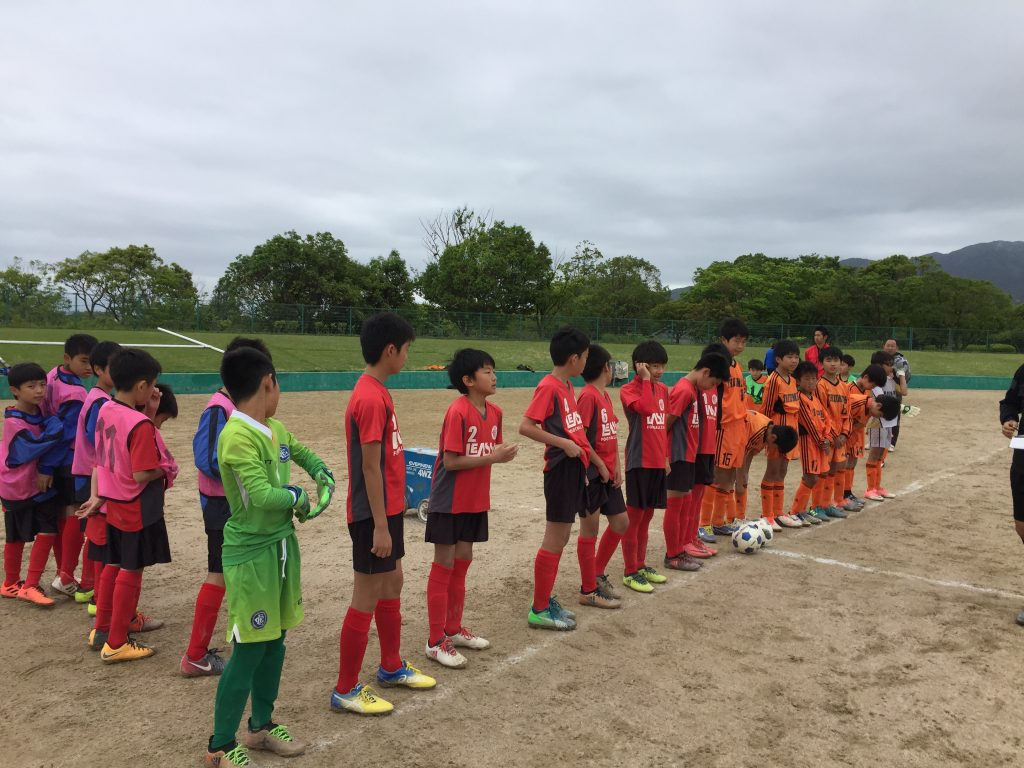 U-12 2nd 4部リーグAパート結果速報(vs三宅、vs深江)