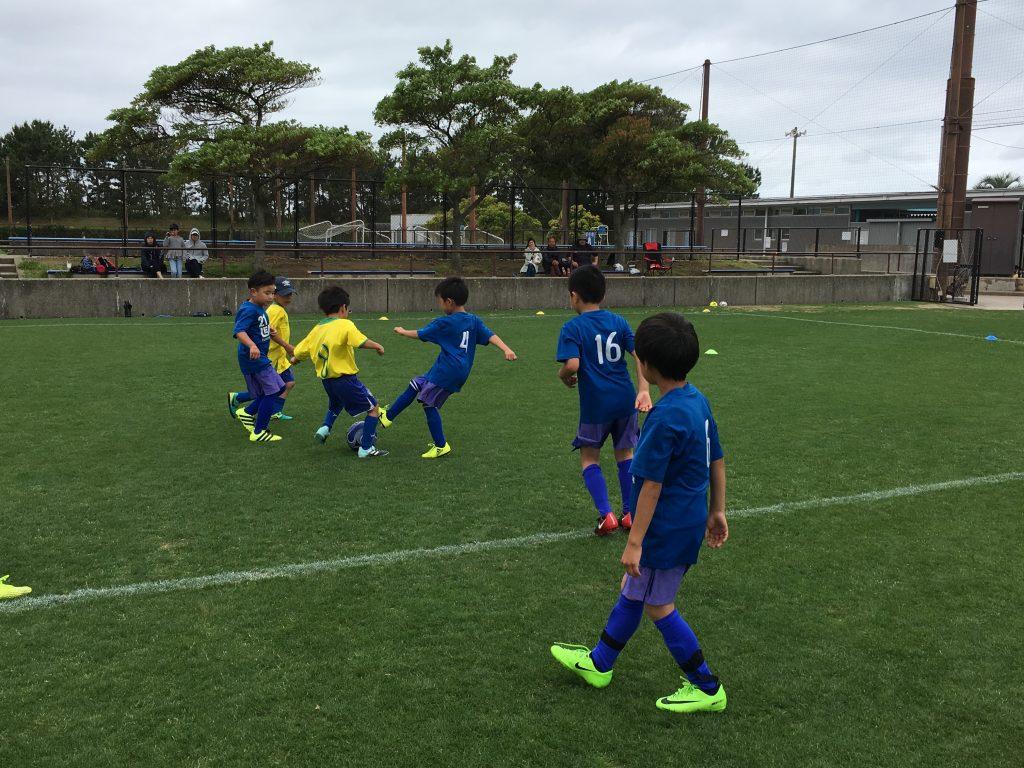 ジュニアユーストップ 県リーグ vsワンソウル