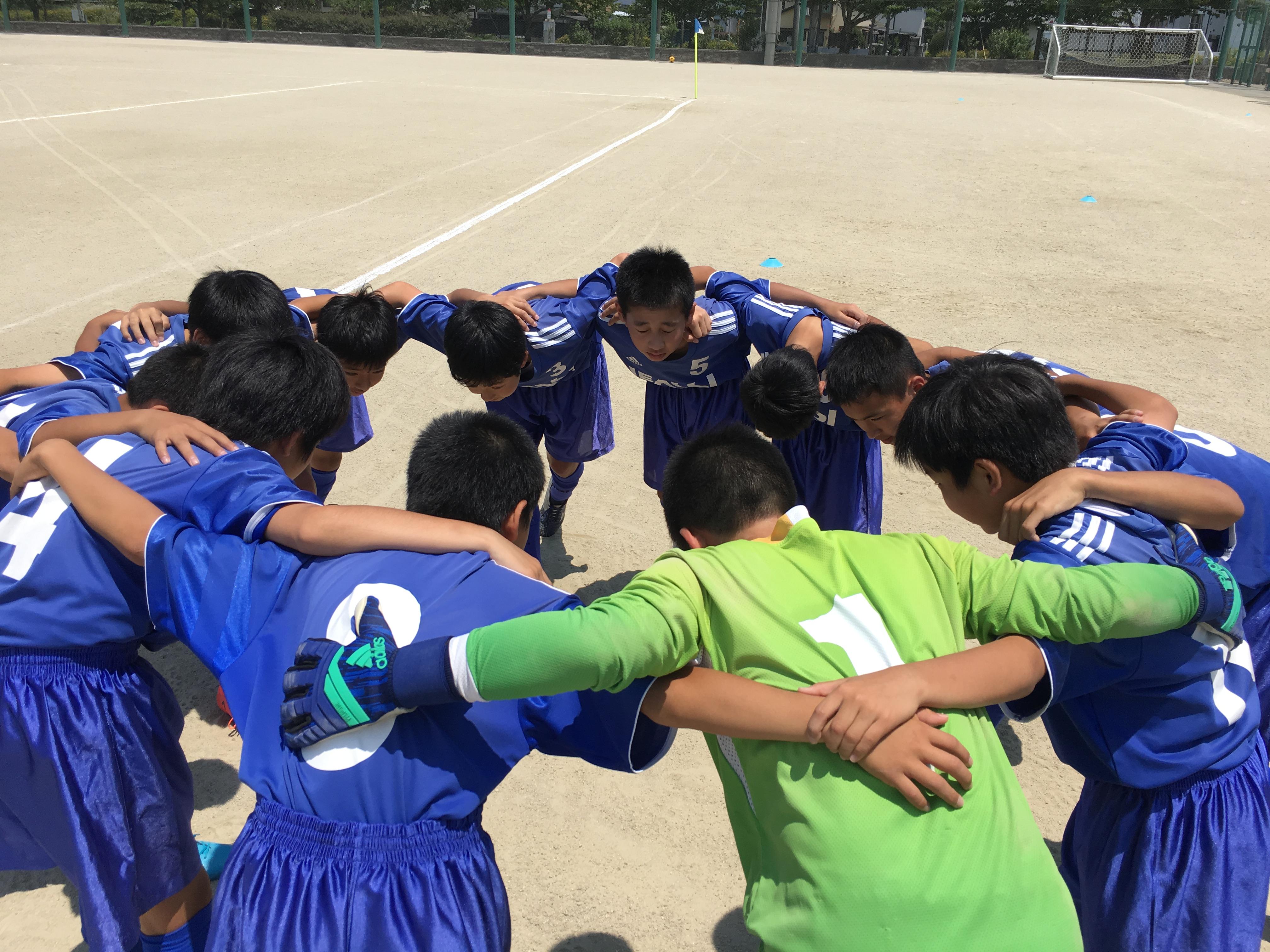 共に勝利!U-13県リーグ第1節 vs カミーリア・エリア伊都