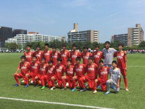ジュニアユーストップ クラブユース選手権 県大会ベスト32