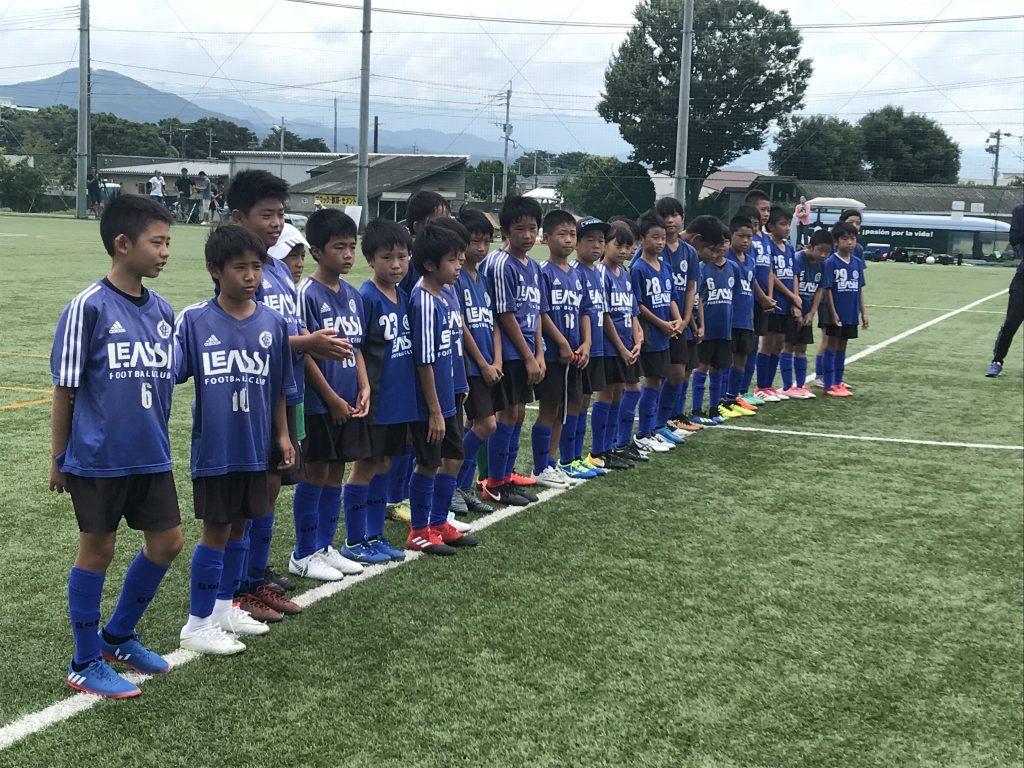 Jリーグクラブ ロアッソ熊本戦!「試合の中での変化に対応する力」U11 2nd 熊本遠征2日目!