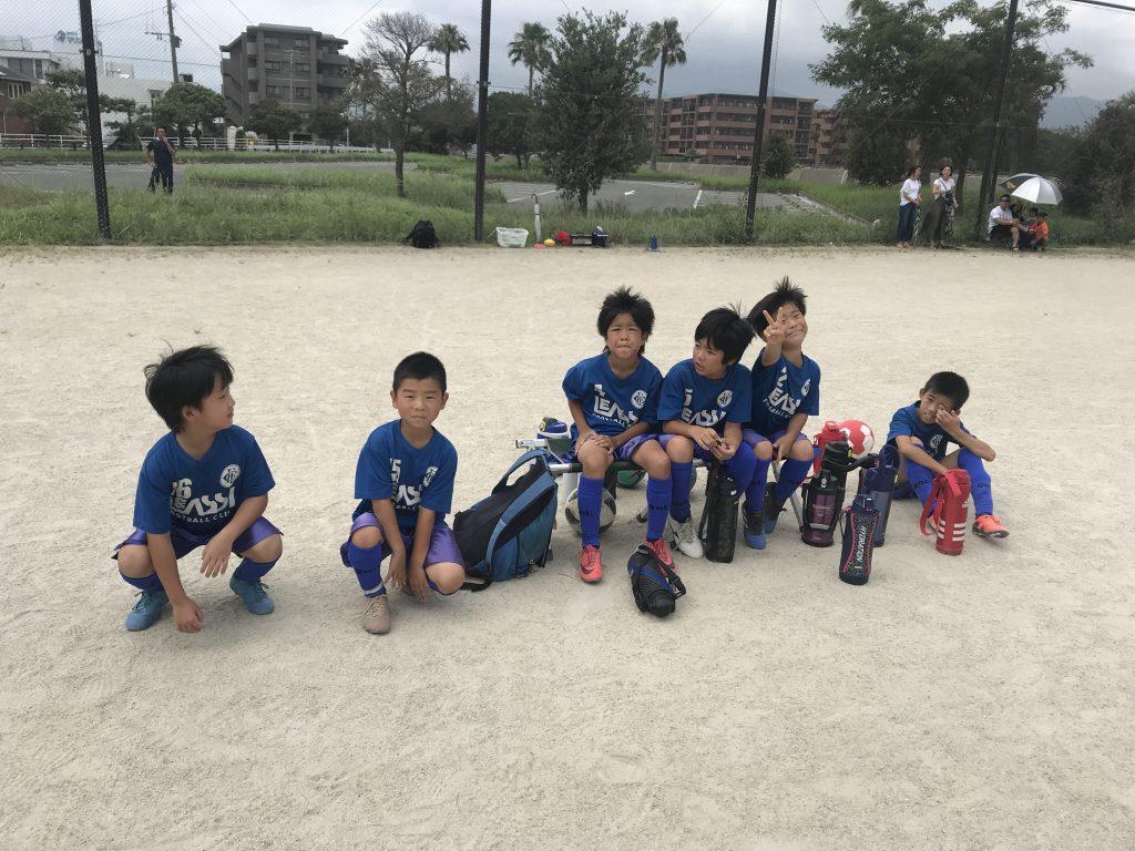 またひとつ新たな課題が!7月29日(日)U9 カップ戦 in 小戸公園!