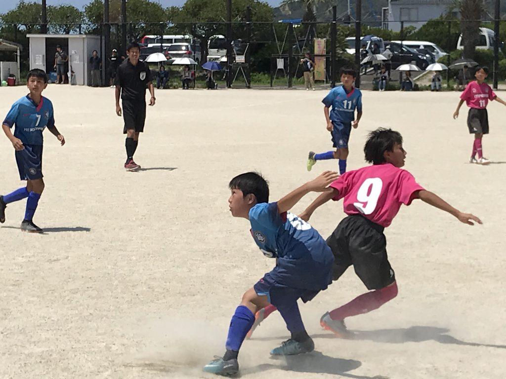 チーム全体の意識改革からですね。U12 1st リーグ戦 vs エリア伊都、田村マーズ
