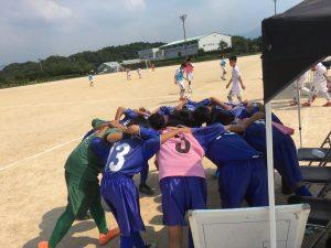 まさかの逆転負け。それも経験 U-13Rojo 県リーグ・Azul TRM vs 川崎、カメリア