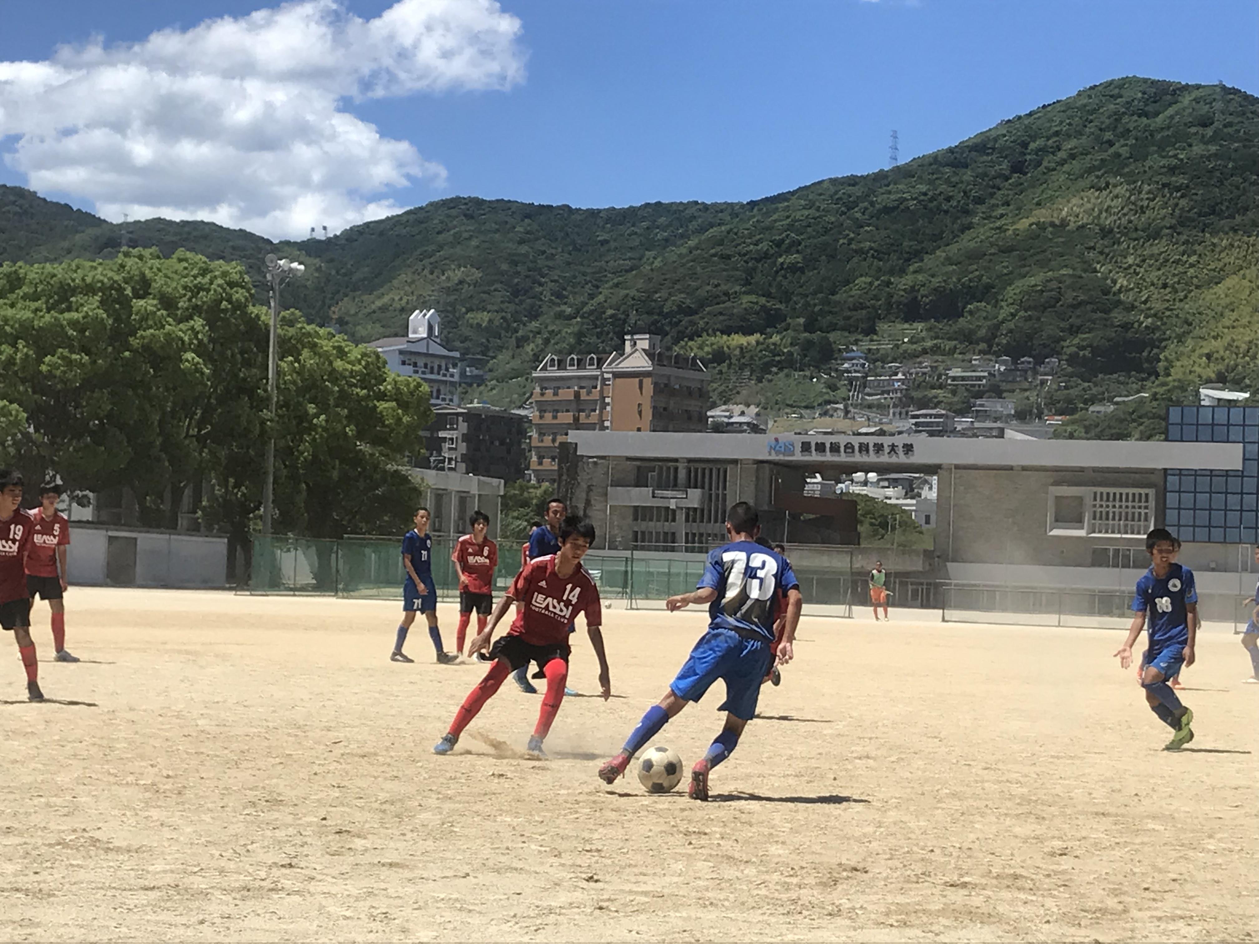 ジュニアユーストップ 長崎遠征2日目 vs 長崎総合科学大学付属高校