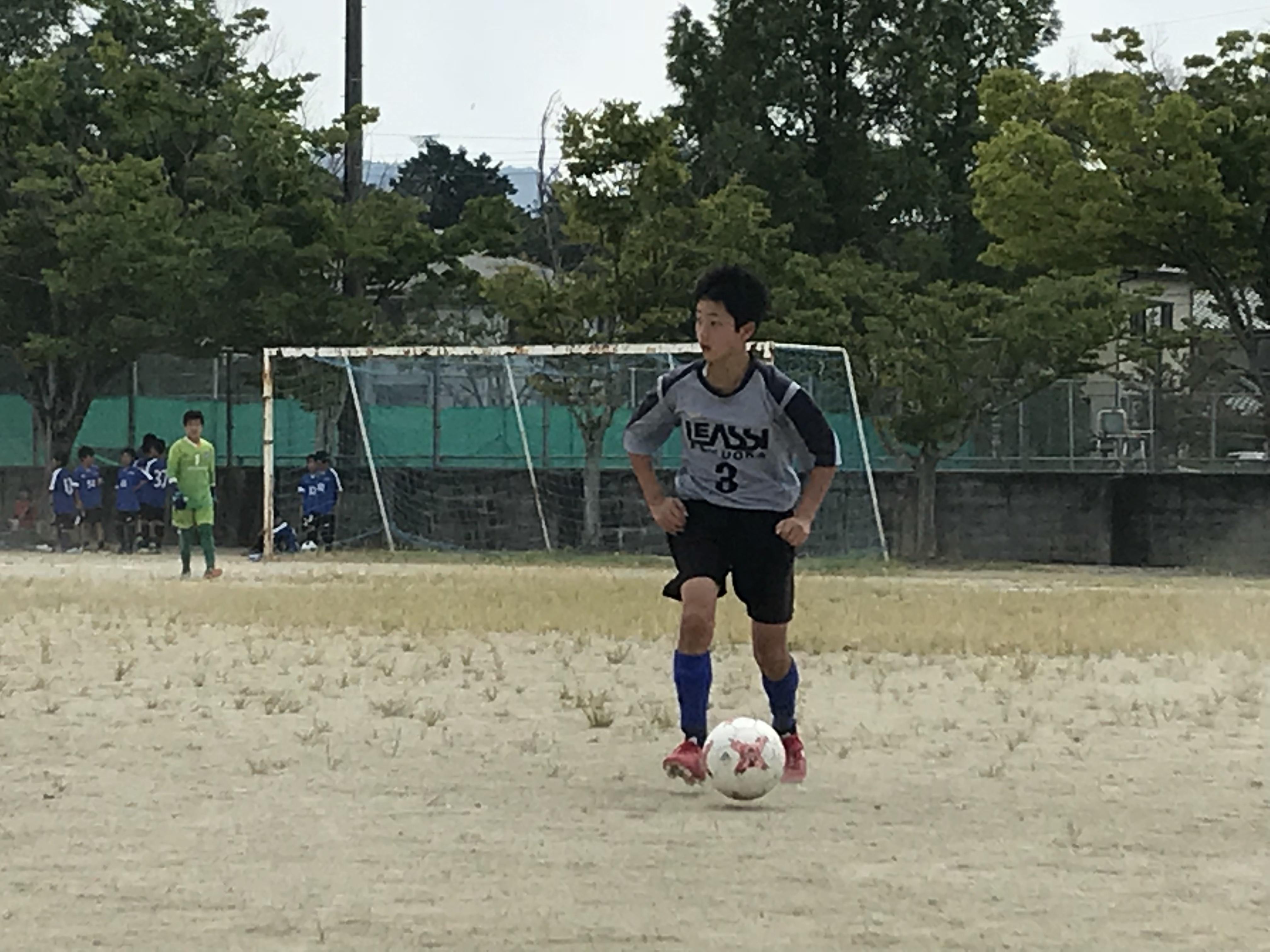 二面性の出た試合でした U13県リーグ中位パートRojo