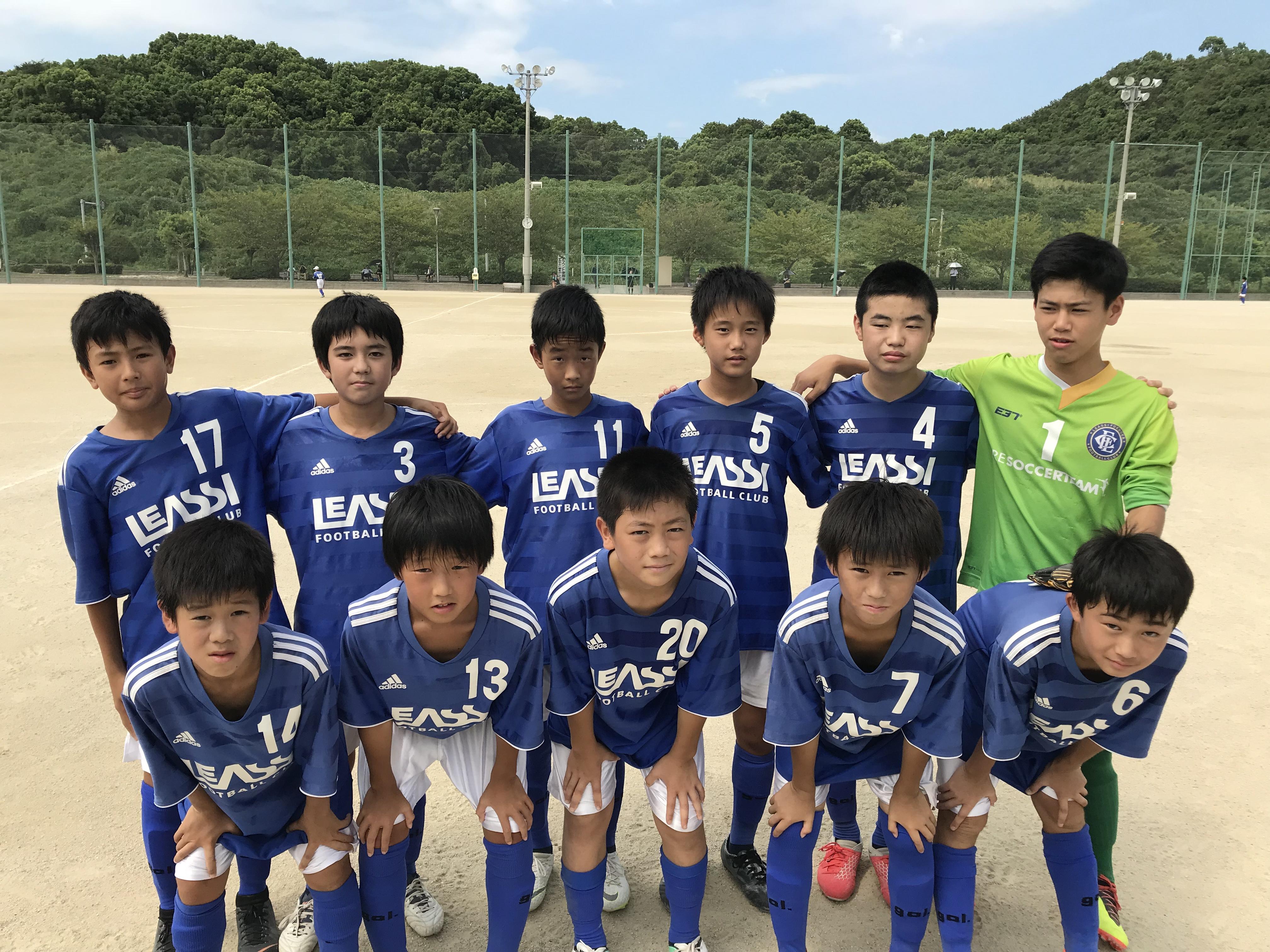 結果が出ていませんが成長を感じる戦いでした U13県リーグ上位パート Azulチーム第4節