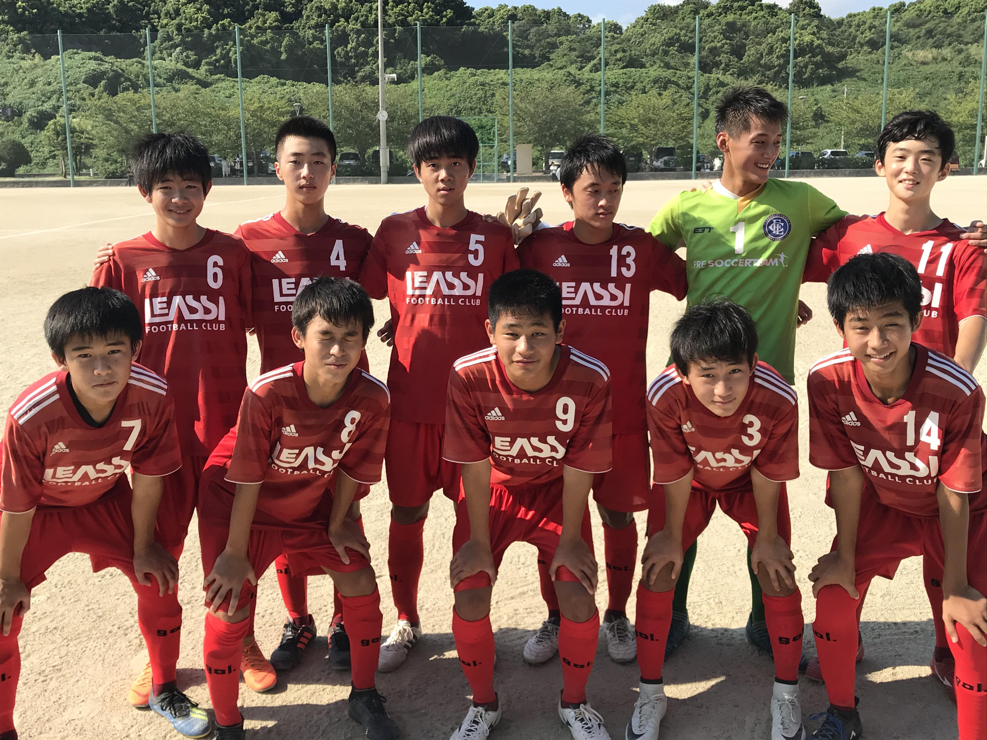 ジュニアユーストップ 県リーグ vs 八女FC