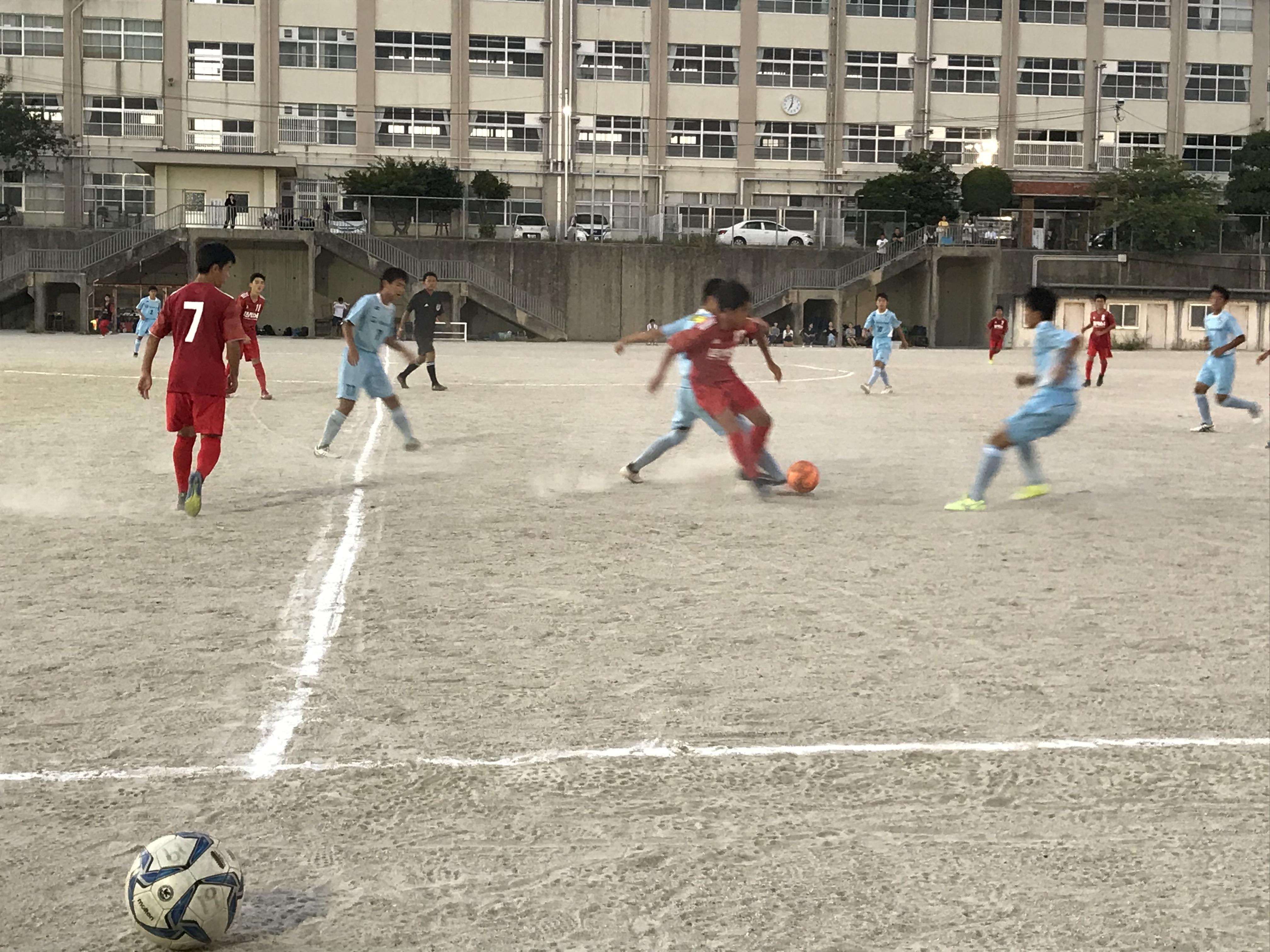 ジュニアユーストップ 県リーグ vs フクオカーナ