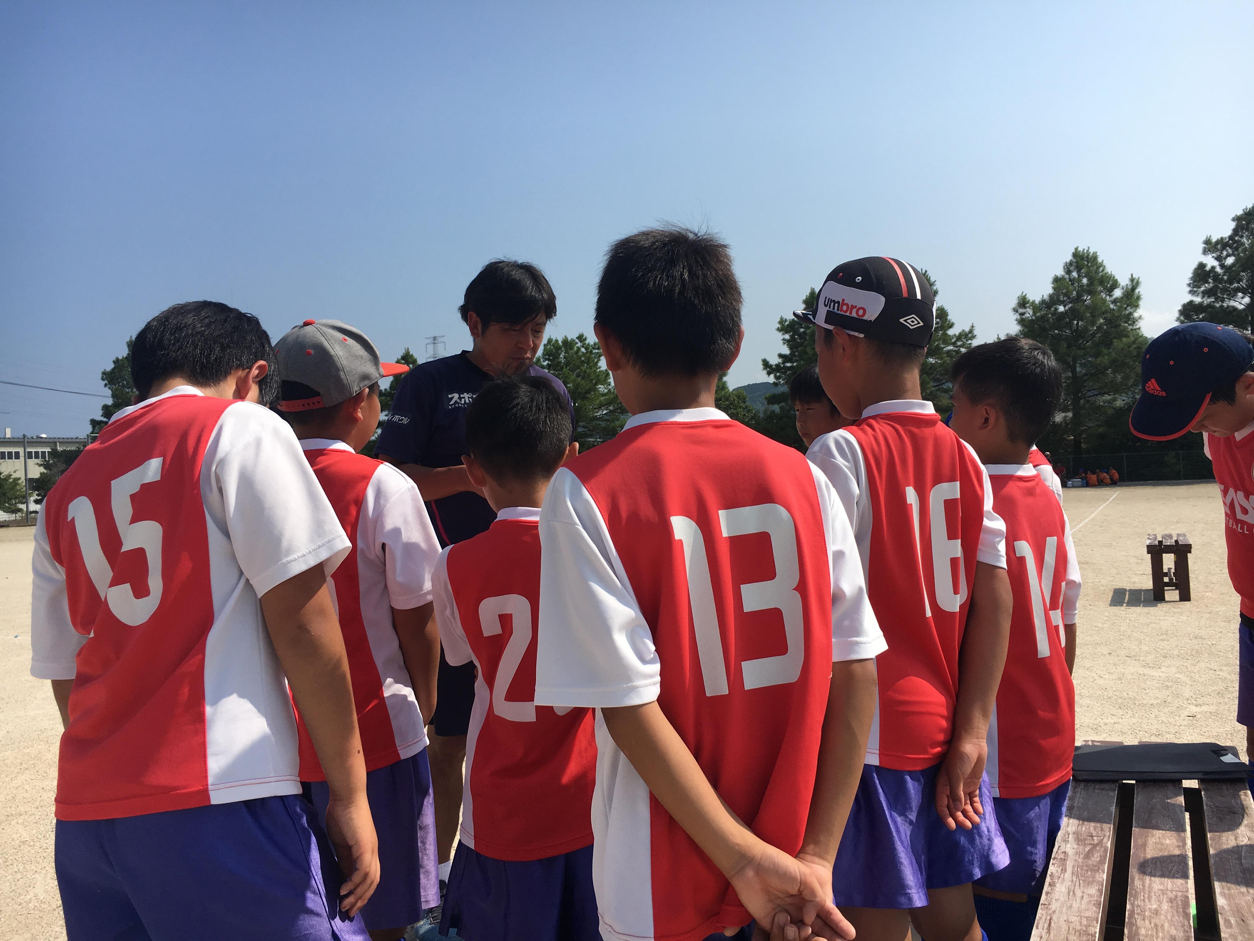 U-13Rojo 県リーグ(後期・中位)第2,3節 vs フォルテFA・ゴラッソ舞鶴