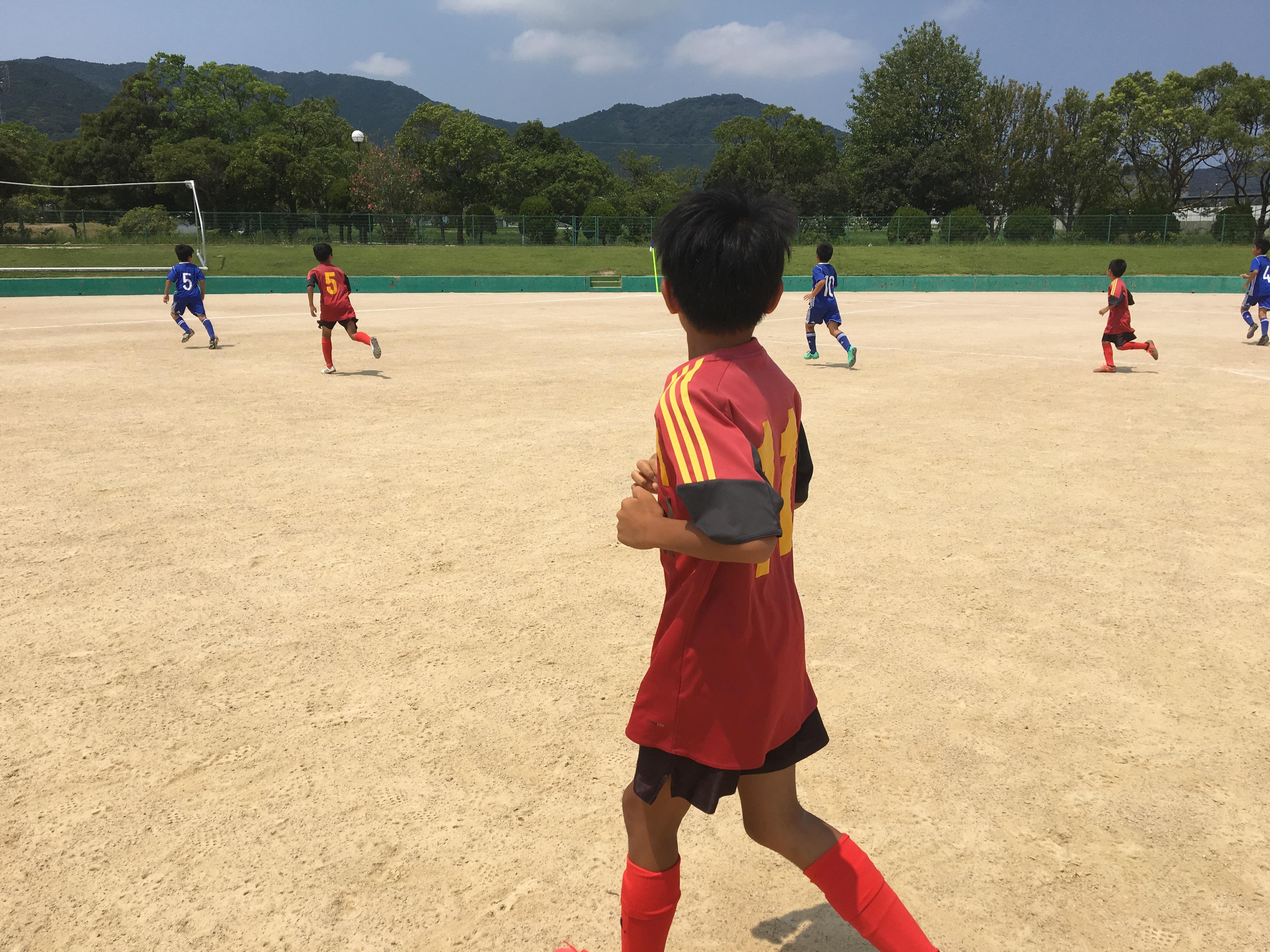 U-12 2nd練習試合(vs板付キッズ)