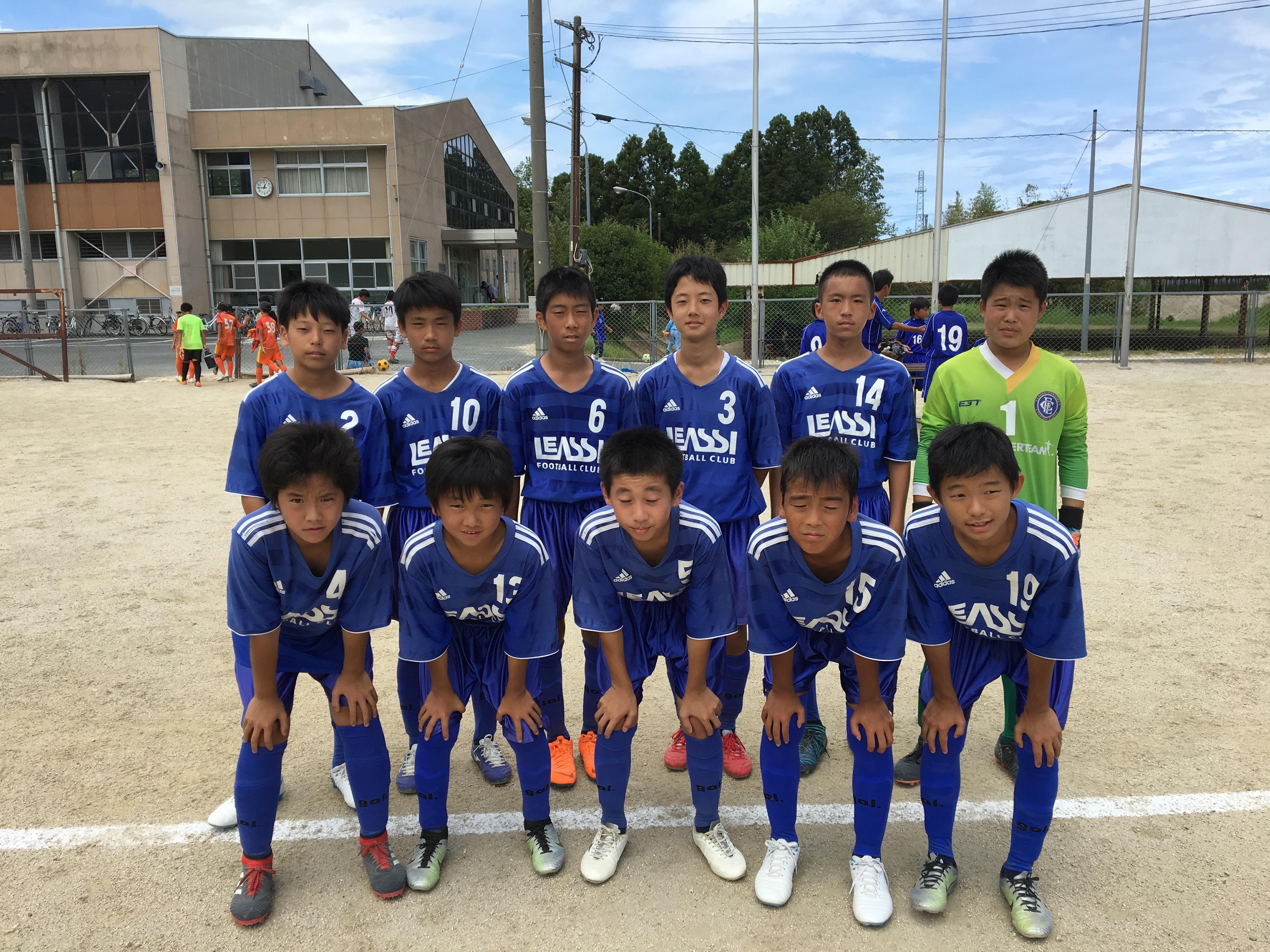 いよいよ最終節を迎えました U13県リーグRojoチーム