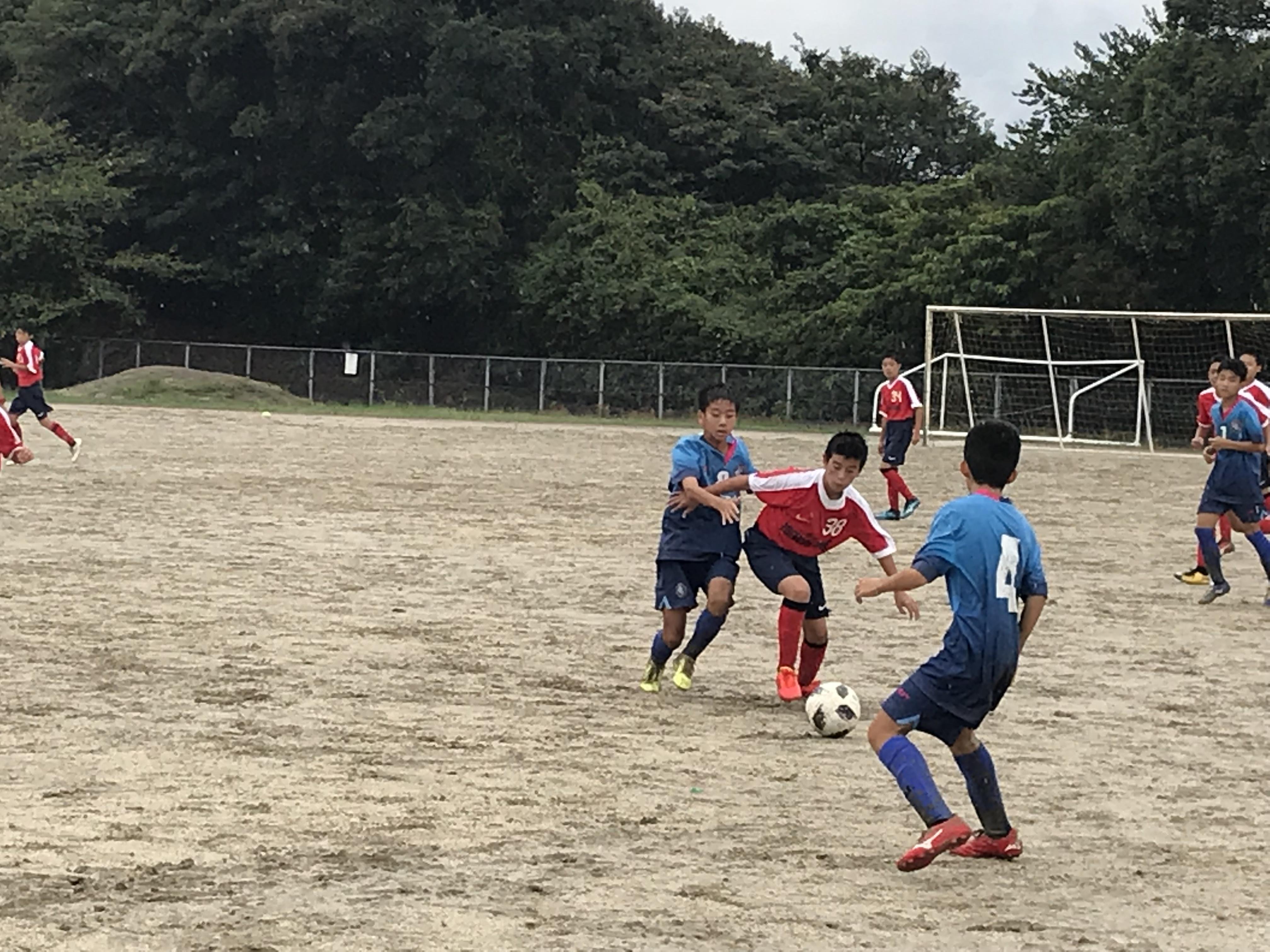 県大会出場へまた一歩前進 U13クラブユース第2節
