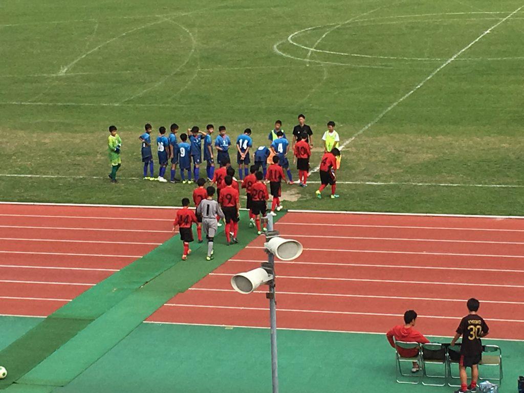 まだまだ目標達成までは向上しなくてはなりません U13クラブユース選手権福岡支部予選第3節