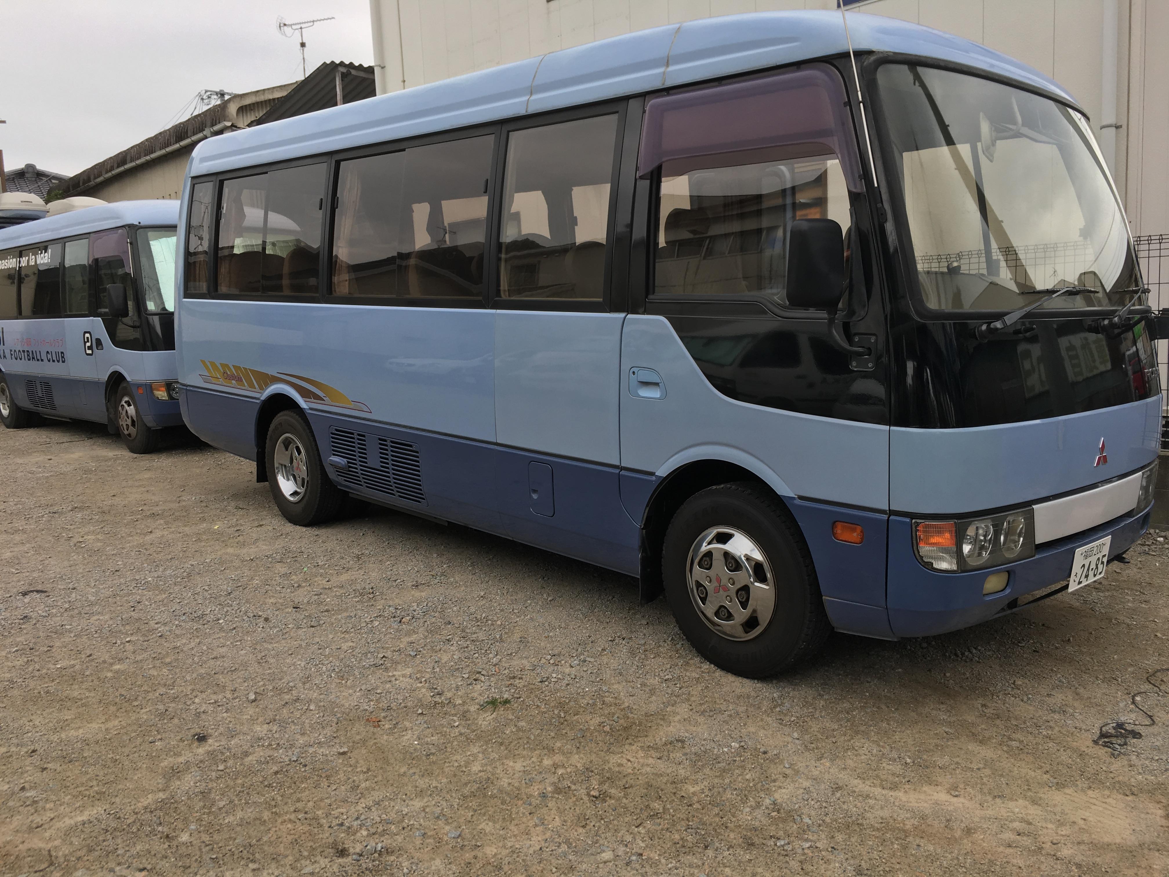 新しい『送迎バス』が入りました! 〜『保護者の負担ゼロ』〜 練習や試合もバスで移動します!