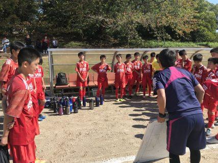 U14クラブユース開幕前のラストマッチ vsオエステ㏌舞鶴公園G
