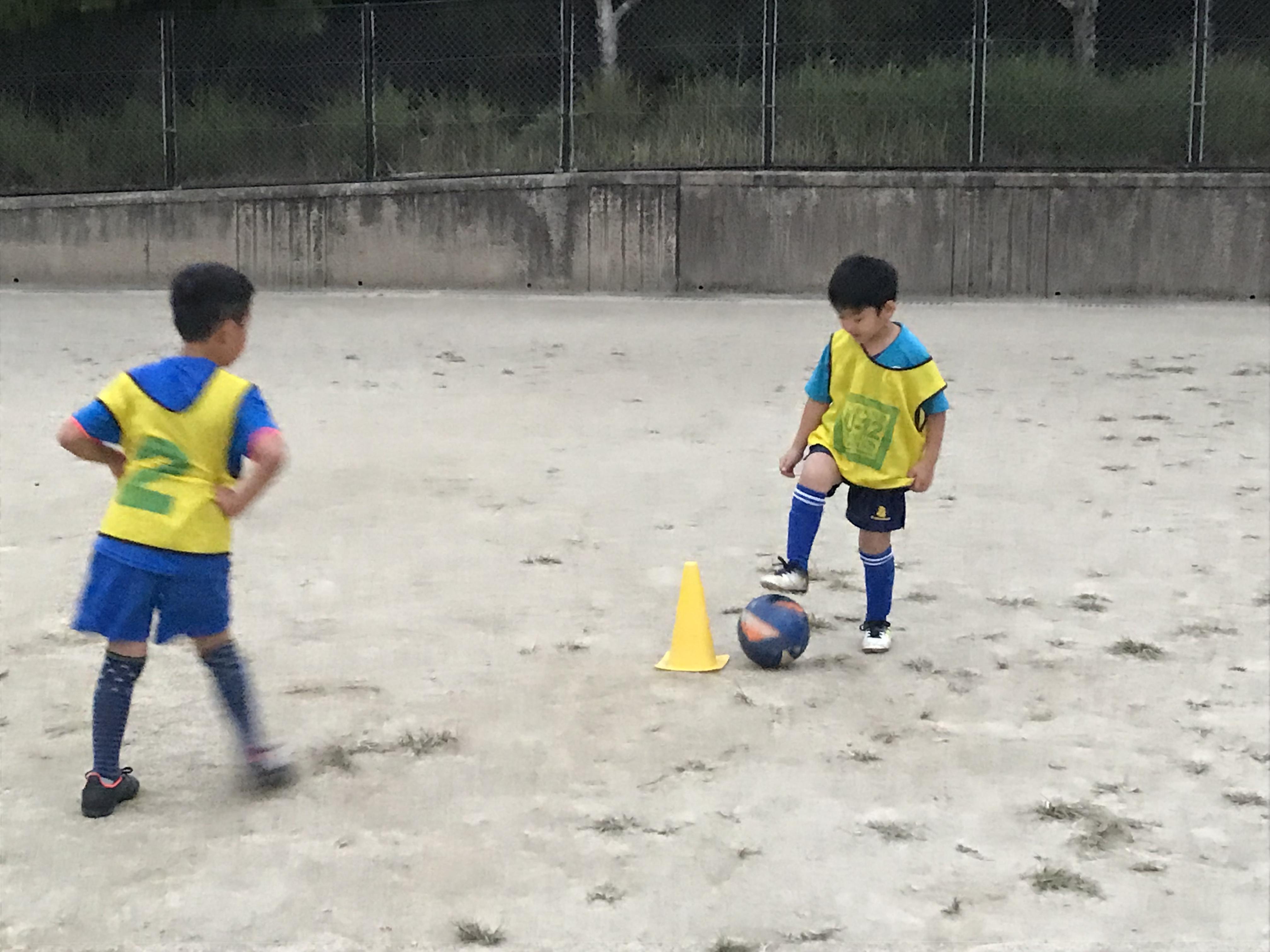 良いサッカー選手になろう!  10月31日(水)桧原スクール!