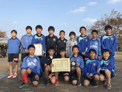 U11 1st 福岡ジュニアサッカーフェスティバル!11月24日・25日