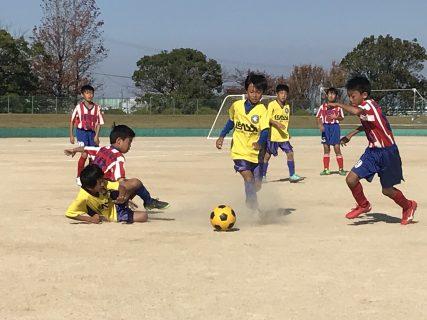 U-10 練習試合 vs J-WIN、志免ジュニア