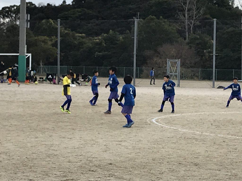 各チーム4試合戦ってきました!12月8日(土)U9・U8 TRM in 伊万里湾大橋G