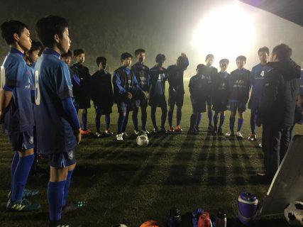 県クラブユースU14予選最終戦vsグローバル
