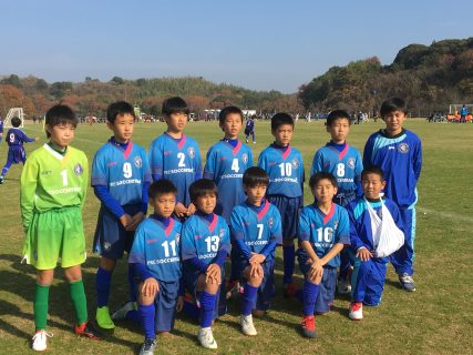 九州ジュニア(U11)福岡県中央大会ベスト32・16