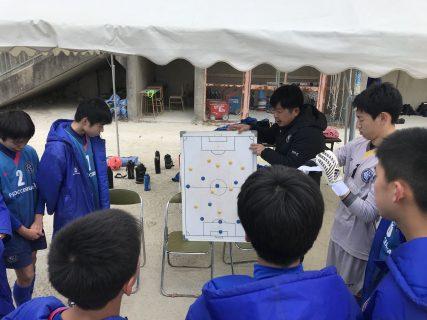 ジュニアユース2nd 福岡市長杯 グループリーグ3節 vs 住吉東中