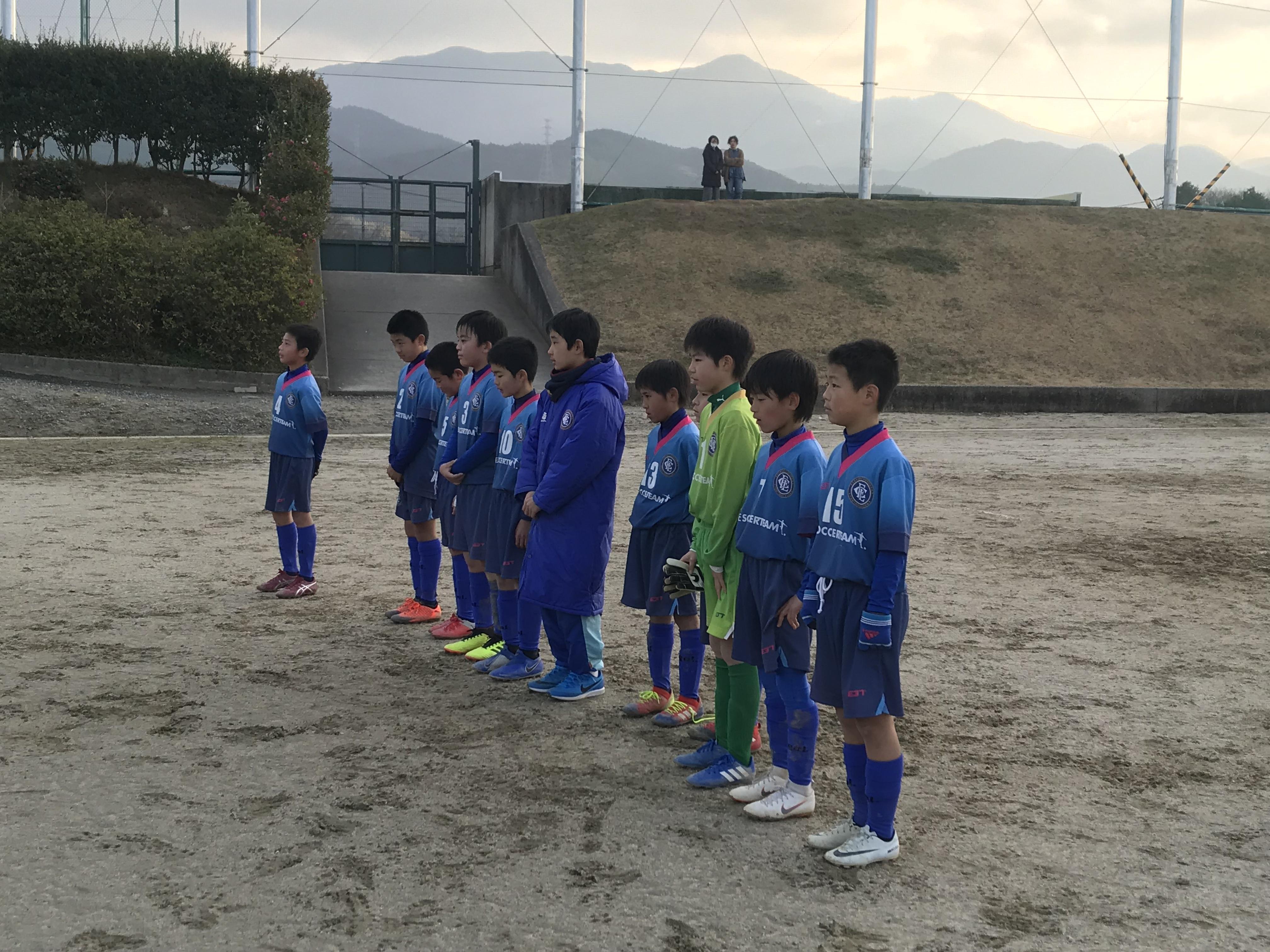 U11 1st福岡支部1部リーグ第6節