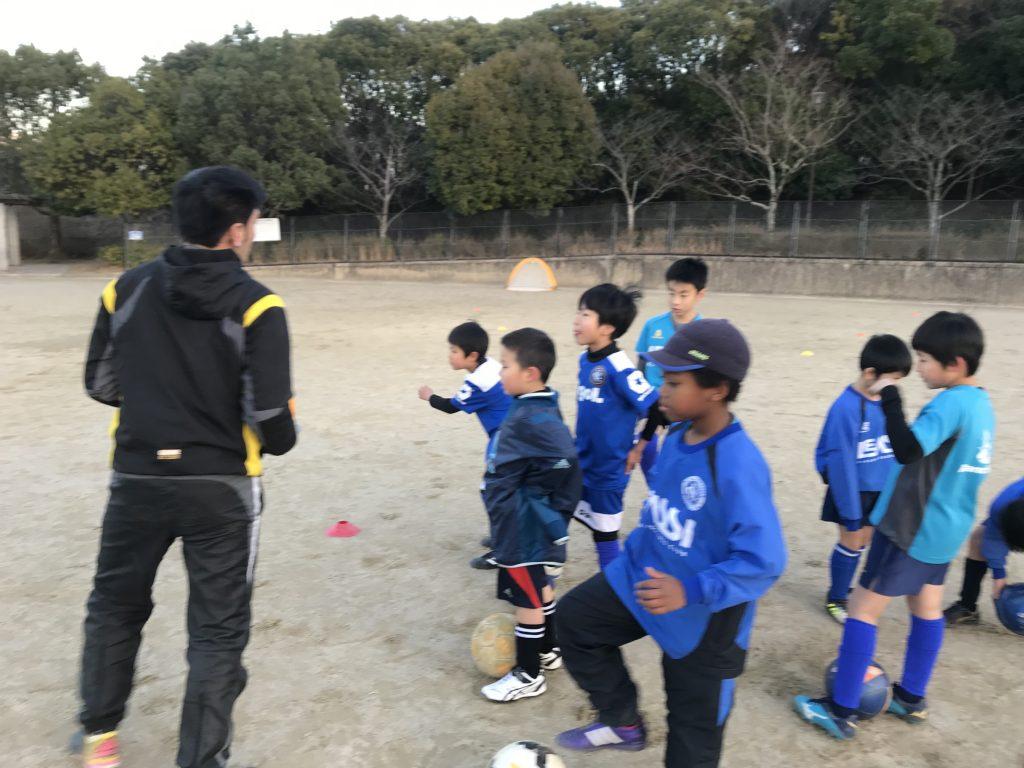 名キーパー誕生!? 1月17日(木)三宅スクール!