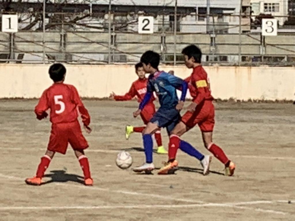 U-12九州ジュニア大会決勝トーナメント(vs若久、vs今宿)U-12 2nd