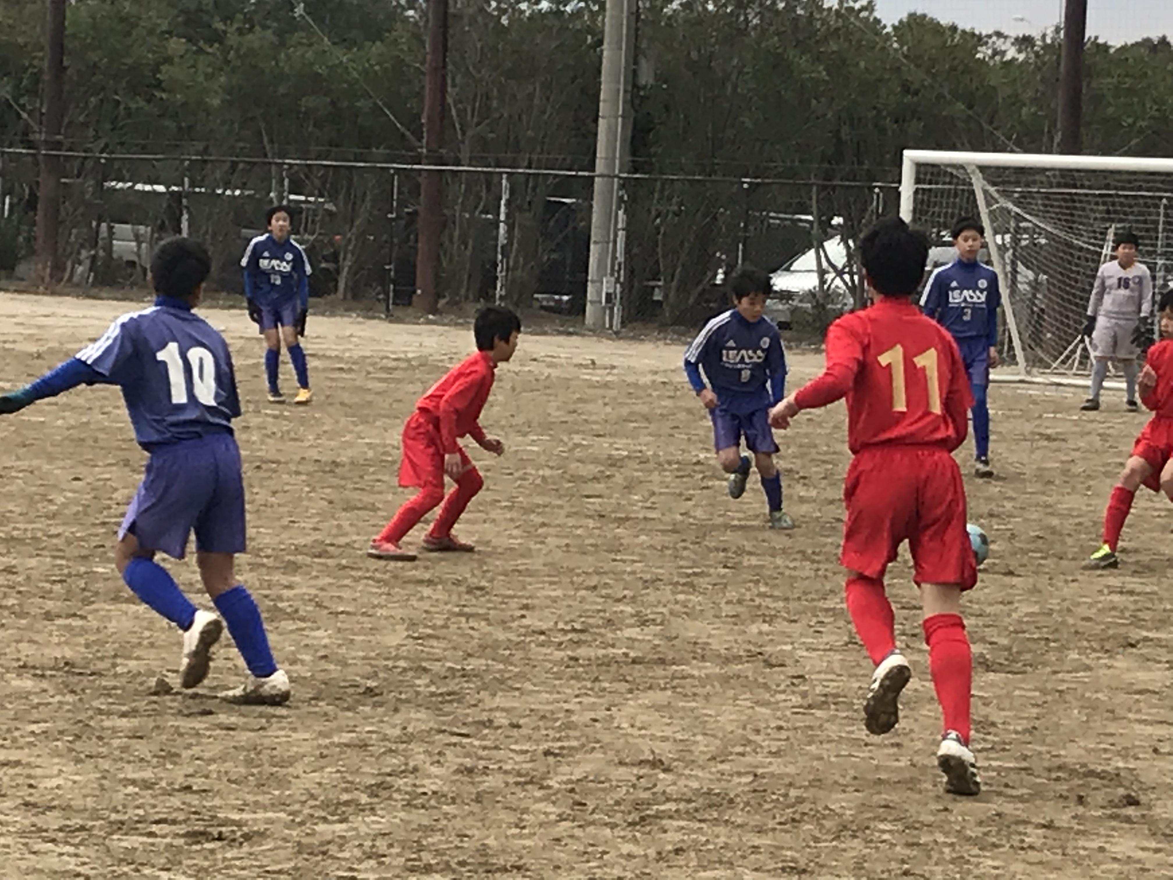 U12 3rd 市長杯 VSルーザS、田隈入部、CLUB東福岡
