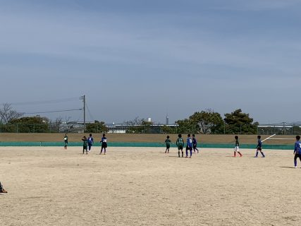 新体制スタート U-11 TRM vs 西南、田村マーズ、堤