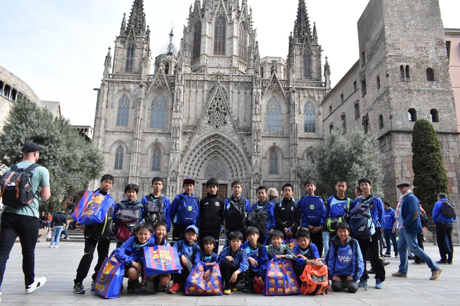バルセロナ遠征 7日目(3/31) 市内観光・ショッピング!