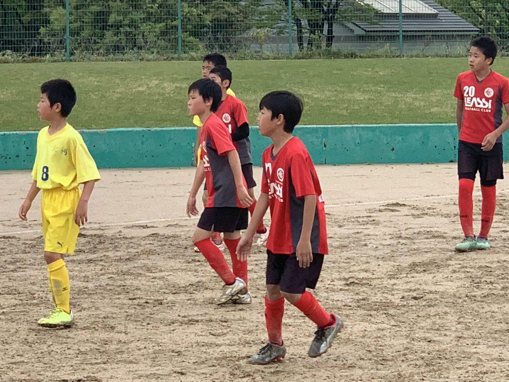 4/30(火)U11 1st TRM in西部運動公園