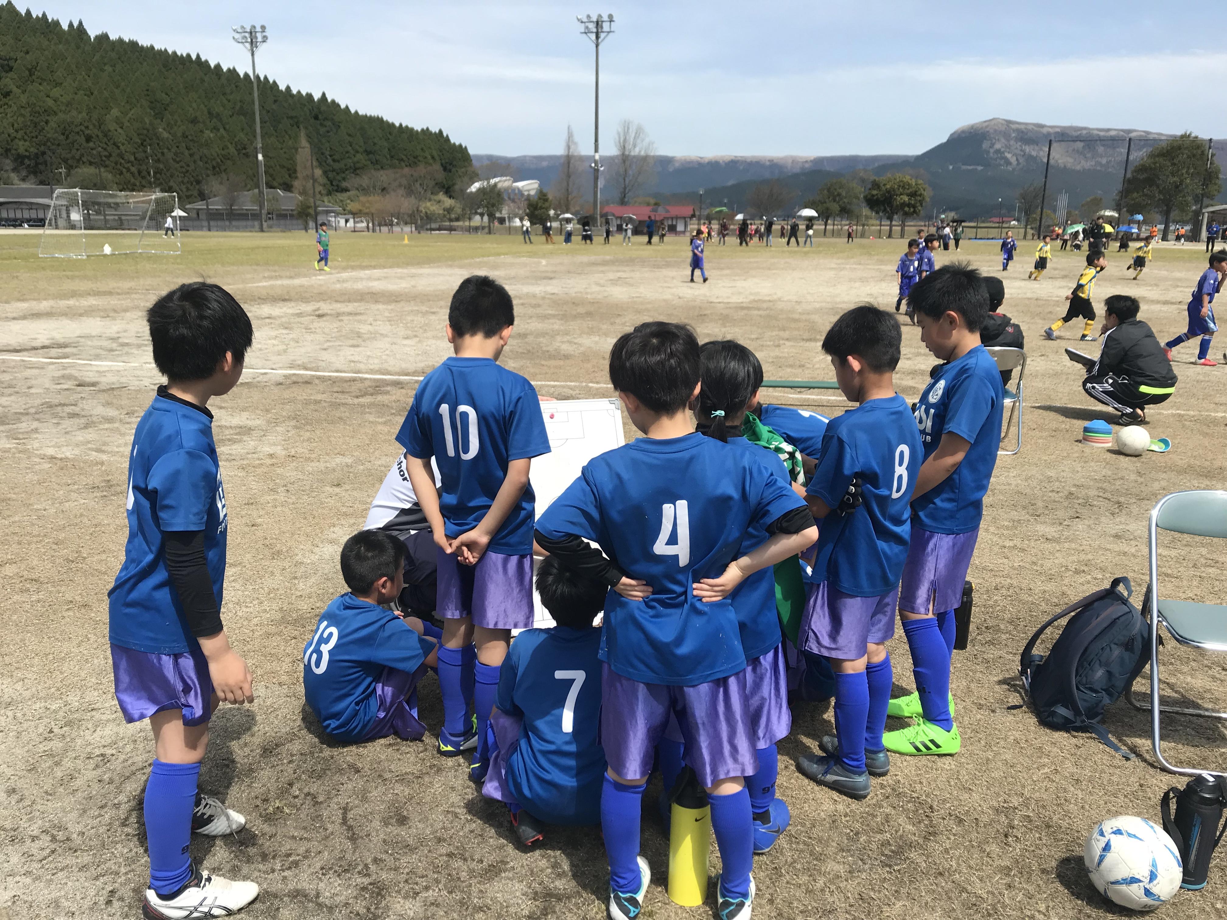 U10 2nd 阿蘇ファイヤーカップ1日目!