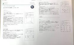 今日の練習メニュー  016  4/19(金)