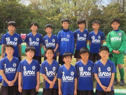 U11 1st 福岡支部2部リーグ開幕!