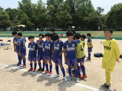 5/25(土)U11 2nd 前期リーグ戦 第3節・4節 in 西部