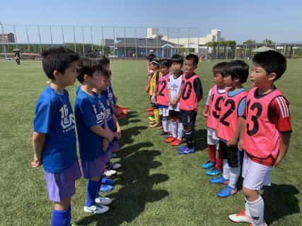 5/3(金) U9 TRM VS 大橋FC in御笠川浄水場