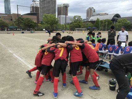 U-12・1st 福岡支部1部リーグ  第2・3節  vs 板付W・今宿