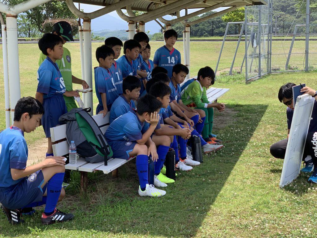 U-13 県リーグ 第1・2節 vs 川崎、レオン